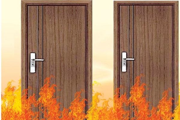Nên chọn loại cửa gỗ chống cháy nào tốt nhất