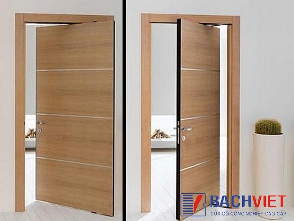 Cửa làm từ gỗ công nghiệp giá rẻ, chất lượng chỉ có tại Bách Việt