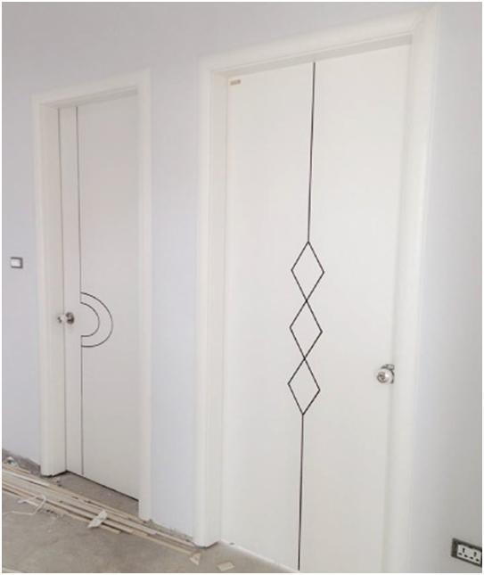 Cửa gỗ Full White mang vẻ đẹp tinh tế và trang nhã