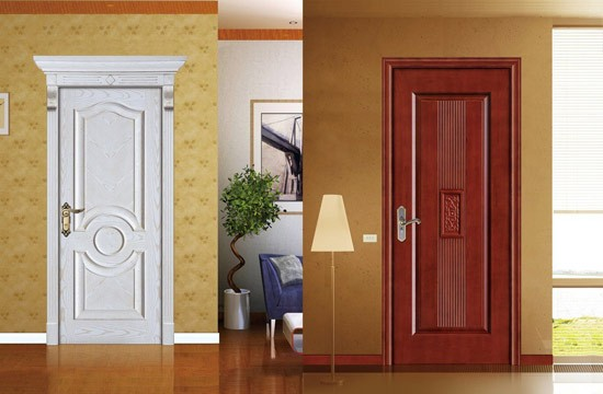 Cửa gỗ Full White 1 cánh giúp căn phòng rộng rãi, thoải mái hơn