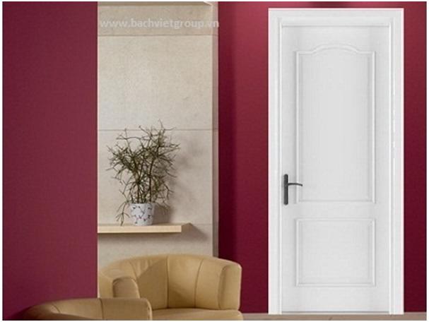 Cửa gỗ Full White phù hợp với nhiều phong cách trang trí