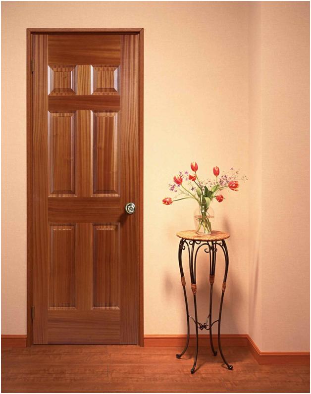 Giải pháp cách âm tiếng ồn ở căn hộ chung cư: Cửa gỗ