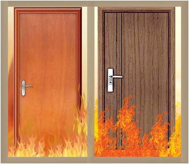 Cửa gỗ chống cháy bảo vệ an toàn cho bạn và cả gia đình