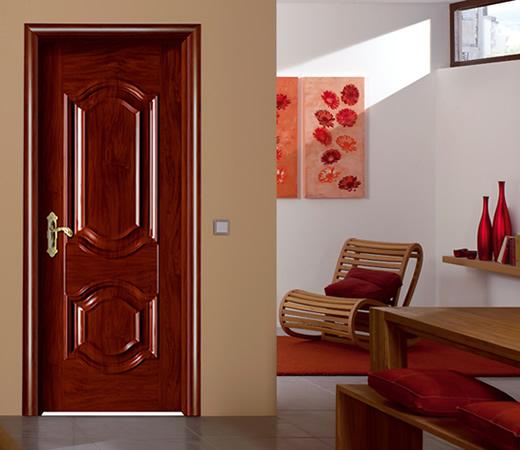 Mẫu cửa thép vân gỗ 1 cánh lắp đặt cửa thông phòng