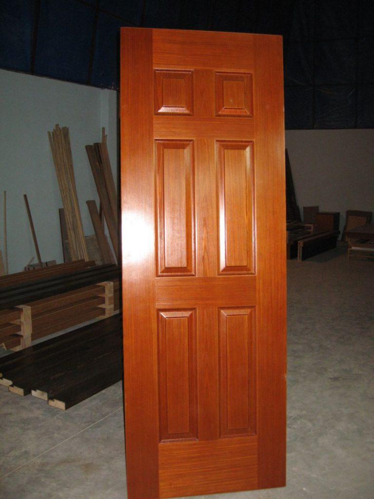 Hướng dẫn cách chọn cửa gỗ lim hợp với màu tường