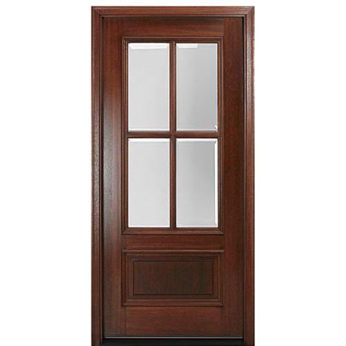 cửa gỗ pano 1 cánh đẹp