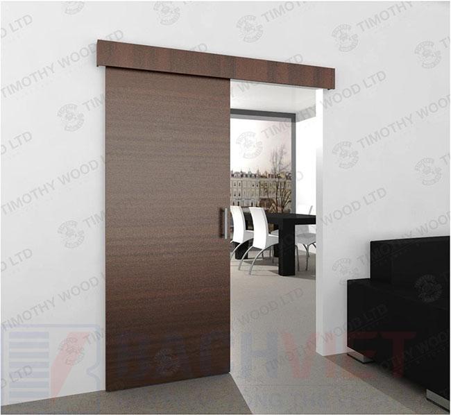 Mẫu cửa kéo kiểu nhật cho phòng khách đơn giản