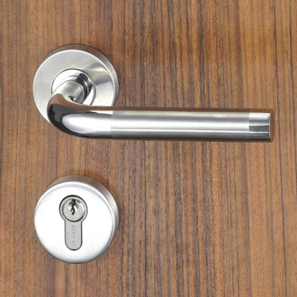những mẫu khóa cửa gỗ khoa cua tay gat