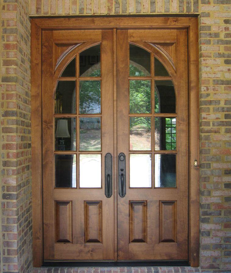 mẫu cửa gỗ kính 4 cánh