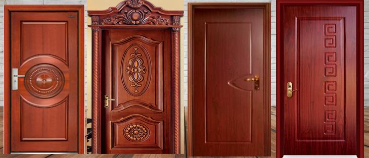 những mẫu cửa gỗ tân cổ điển hiện đại cho phòng ngủ