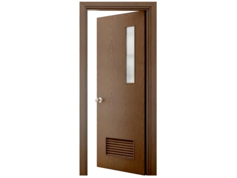 thiết kế cửa thông phòng có ô thoáng