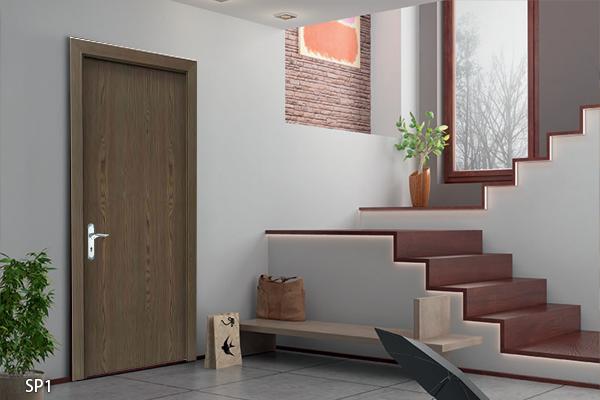 Mẫu cửa gỗ chống cháy Speetek SP1