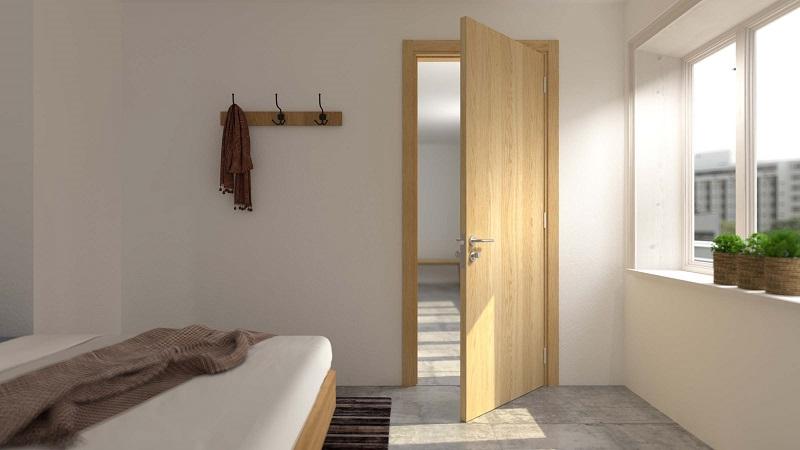 Lưu ý khi chọn cửa phòng ngủ đẹp