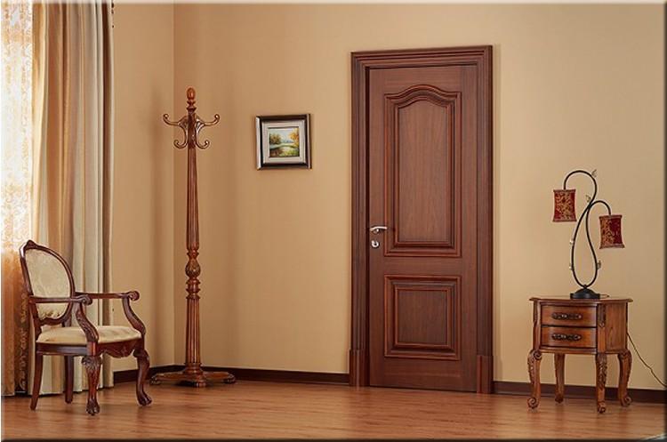 Mẫu cửa gỗ phòng ngủ dẹp 2020
