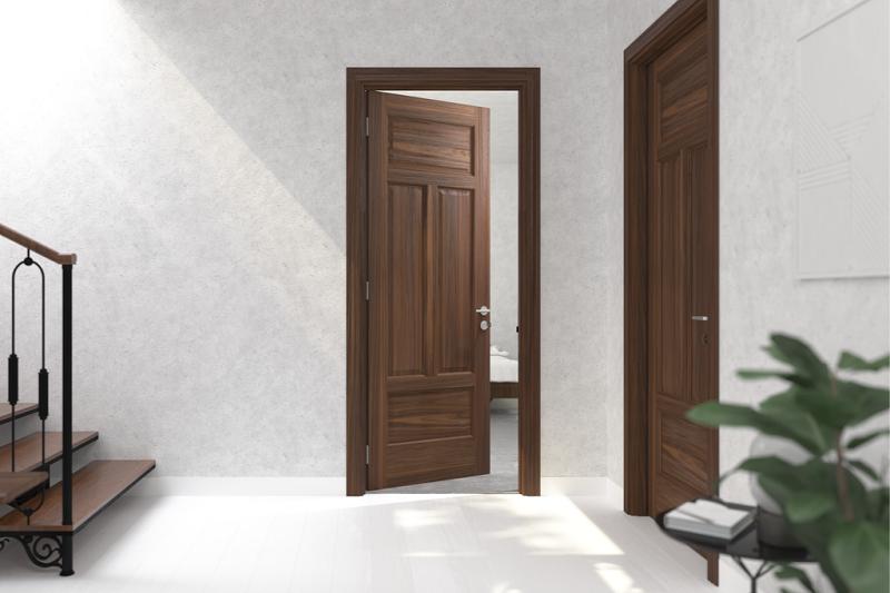 Mẫu cửa phòng ngủ đẹp hợp phong thủy
